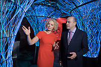 **Embargo until 00.01am 31st August 2017**<br /> No repro fee<br /> 30-8-2017<br /> Pictured at the launch of Ireland's first narrowband IOT (NBIOT) network by Vodafone Ireland was Minister for Communications, Climate Action and Environment, Denis Naughten TD and Anne O'Leary, CEO, Vodafone. Vodafone Ireland is the first Irish operator to offer a nationwide commercial narrowband NB-IoT network.Pic:Naoise Culhane-no fee<br /> NB-IoT is a low power wide area network and is designed to wirelessly connect millions of devices that have low bandwidth requirements and will provide a head start to Irish businesses and consumers in their race to become truly smart and efficient, radically saving time and money. As the first Irish operator to bring this technology to market, Vodafone is on course to help transform Ireland into a 'smart nation'. The launch took place today, Thursday 31st at EPIC Museum in Custom House Quarter, Ireland's only fully digital visitor attraction.<br /> Pic:Naoise Culhane-no fee