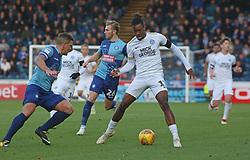 Ivan Toney of Peterborough United in action Adam El-Abd of Wycombe Wanderers - Mandatory by-line: Joe Dent/JMP - 03/11/2018 - FOOTBALL - Adam's Park - High Wycombe, England - Wycombe Wanderers v Peterborough United - Sky Bet League One