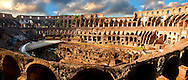 Coloseum ( Colosseo) . Rome .<br /> <br /> If you prefer to buy from our ALAMY PHOTO LIBRARY  Collection visit : https://www.alamy.com/portfolio/paul-williams-funkystock/colosseum-rome.html<br /> Visit our CLASSICAL WORLD HISTORIC SITES PHOTO COLLECTIONS for more photos to buy as buy as wall art prints https://funkystock.photoshelter.com/gallery-collection/Classical-Era-Historic-Sites-Archaeological-Sites-Pictures-Images/C0000g4bSGiDL9rw .<br /> <br /> Visit our ITALY HISTORIC PLACES PHOTO COLLECTION for more   photos of Italy to download or buy as prints https://funkystock.photoshelter.com/gallery-collection/2b-Pictures-Images-of-Italy-Photos-of-Italian-Historic-Landmark-Sites/C0000qxA2zGFjd_k<br /> .<br /> <br /> Visit our ROMAN ART & HISTORIC SITES PHOTO COLLECTIONS for more photos to download or buy as wall art prints https://funkystock.photoshelter.com/gallery-collection/The-Romans-Art-Artefacts-Antiquities-Historic-Sites-Pictures-Images/C0000r2uLJJo9_s0