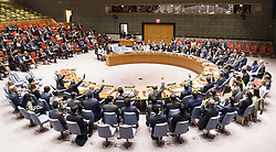 September 11, 2017 - New York, NY, U.S - Security Council vote on sanctions for North Korea at the United Nations in New York City, NY on September 11, 2017. (Credit Image: © Michael Brochstein via ZUMA Wire)