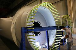 September 5, 2017 - Nantong, Nantong, China - The wind power generation industry booms in Nantong, east China's Jiangsu Province. (Credit Image: © SIPA Asia via ZUMA Wire)