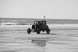 William Scarince's 1930 Ford Model A Coupe at the Race of Gentlemen. Wildwood, NJ, USA. October 11, 2015.  Photography ©2015 Michael Lichter.