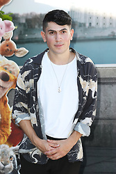 Luke Franks attends the European premiere of Christopher Robin at the BFI Southbank in London.