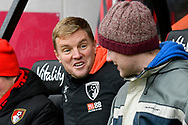 AFC Bournemouth manager Eddie Howe before the The FA Cup 3rd round match between Bournemouth and Brighton and Hove Albion at the Vitality Stadium, Bournemouth, England on 5 January 2019.