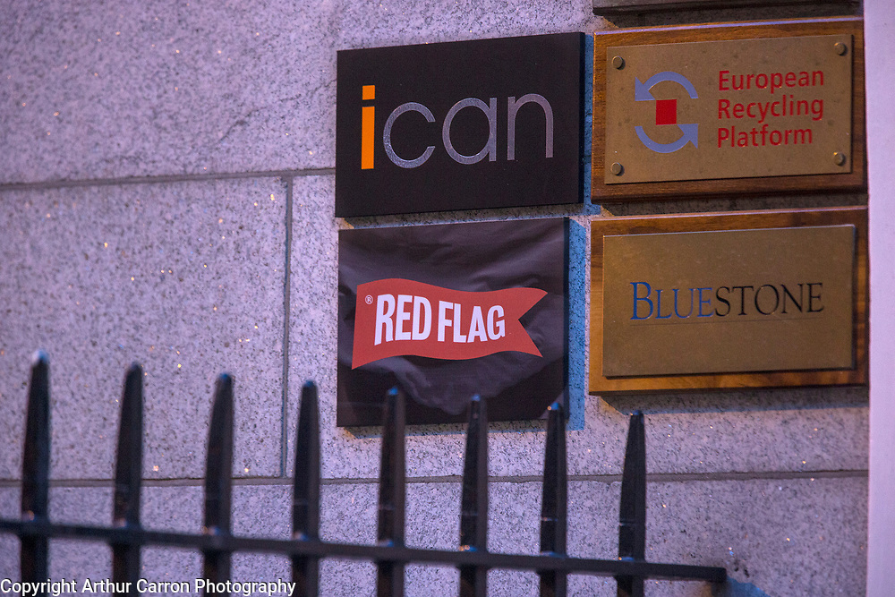 15/10/15 Red Flag PR company on Ely Place in Dublin. Picture:Arthur Carron