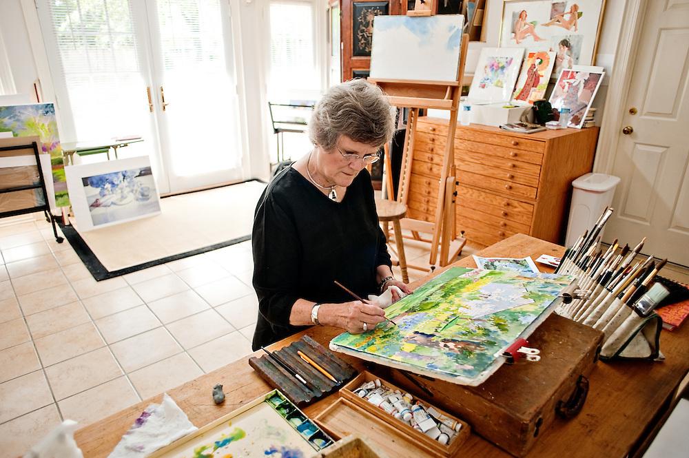Artist Betty Brown