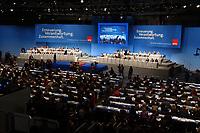 20 NOV 2001, NUERNBERG/GERMANY:<br /> Uebersicht Plenum SPD Bundesparteitag, Congress Centrum Nuernberg<br /> IMAGE: 20011119-01-034<br /> KEYWORDS: Parteitag, Nürnberg, Übersicht