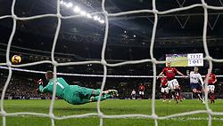 Manchester United goalkeeper David de Gea saves a shot