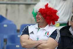 March 16, 2019 - Rome, RM, Italy - Italy fans during the Six Nations International Rugby Union match between Italy and France at Stadio Olimpico on March 16, 2019 in Rome, Italy. (Credit Image: © Danilo Di Giovanni/NurPhoto via ZUMA Press)