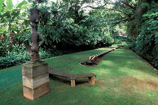 Hawaii, National Tropical Botanical Garden in Lawai on the Island of Kauai.