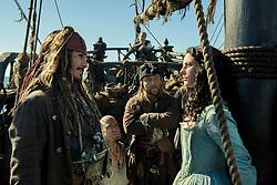 RELEASE DATE: May 26, 2017 TITLE: Pirates Of The Caribbean: Dead Men Tell No Tales STUDIO: Disney Enterprises DIRECTOR: Joachim Ronning, Espen Sandberg PLOT: Captain Jack Sparrow searches for the trident of Poseidon STARRING: JOHNNY DEPP as Captain Jack Sparrow, KAYA SCODELARIO as Carina Smyth (Credit: Disney Enterprises/Entertainment Pictures/ZUMAPRESS.com)