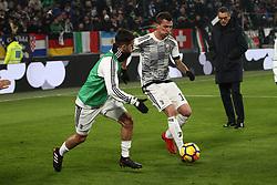 December 23, 2017 - Turin, Italy - Juventus forward Mario Mandzukic (17) warms up before the Serie A football match n.18 JUVENTUS - ROMA on 23/12/2017 at the Allianz Stadium in Turin, Italy. (Credit Image: © Matteo Bottanelli/NurPhoto via ZUMA Press)