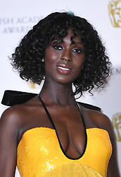 Jodie Turner-Smith at the 73rd British Academy Film Awards held at the Royal Albert Hall, London.. Photo credit should read: Doug Peters/EMPICS