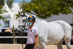 Spits Thibault, BEL, Classic Touch Dh<br /> FEI Jumping European Championships for Young Riders, Juniors, Children - Vilamoura 2021<br /> © Hippo Foto - Dirk Caremans<br /> 18/07/2021