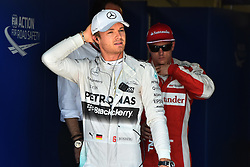 06.06.2015, Circuit Gilles Villeneuve, Montreal, CAN, FIA, Formel 1, Grand Prix von Kanada, Qualifying, im Bild Nico Rosberg (GER) Mercedes AMG F1 in parc ferme // during Qualifyings of the Canadian Formula One Grand Prix at the Circuit Gilles Villeneuve in Montreal, Canada on 2015/06/06. EXPA Pictures © 2015, PhotoCredit: EXPA/ Sutton Images/ Mark<br /> <br /> *****ATTENTION - for AUT, SLO, CRO, SRB, BIH, MAZ only*****