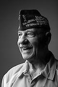 Eugene R. Manfrey<br /> Army<br /> E-7<br /> Infantry<br /> Sept. 1948- June 1952<br /> WWII and Korea<br /> <br /> Veterans Portrait Project<br /> Louisville, KY<br /> VFW Convention <br /> (Photos by Stacy L. Pearsall)