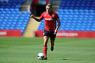 Craig Bellamy of Cardiff city in action. Pre season friendly match, Cardiff city v Athletic Club Bilbao at the Cardiff city stadium in Cardiff,  South Wales on Saturday 10th August 2013. pic by Andrew Orchard,  Andrew Orchard sports photography,