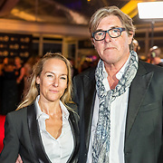 NLD/Amsterdam/20171012 - Televizier-ring Gala 2017, Bert van der Veer en partner Sabine