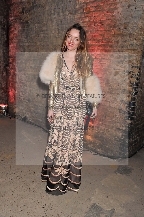 ALICE TEMPERLEY at Wanderlust - the Contemporary Art Society Annual Fundraising Gala held at Old Vic Tunnels, London on 13th March 2013.