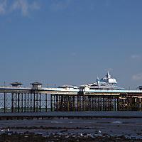 Europe, United Kingdom, Wales, Llandudno. Llandudno Pier.
