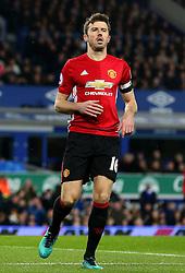Michael Carrick of Manchester United - Mandatory by-line: Matt McNulty/JMP - 04/12/2016 - FOOTBALL - Goodison Park - Liverpool, England - Everton v Manchester United - Premier League