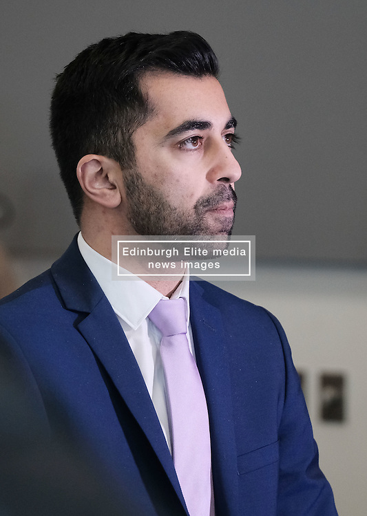 Transport Scotland Christmas Getaway, Tuesday 20th December 2016<br /> <br /> Transport Minister, Humza Yousaf was at the National Traffic Control Centre in South Queensferry to see preparations being made for the Winter Getaway.<br /> <br /> (c) Alex Todd   Edinburgh Elite media