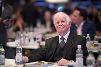 DEU, Deutschland, Germany, Leipzig, 22.11.2019: Kurt Biedenkopf, ehemaliger Ministerpräsident von Sachsen, beim Bundesparteitag der CDU in der Messe Leipzig.