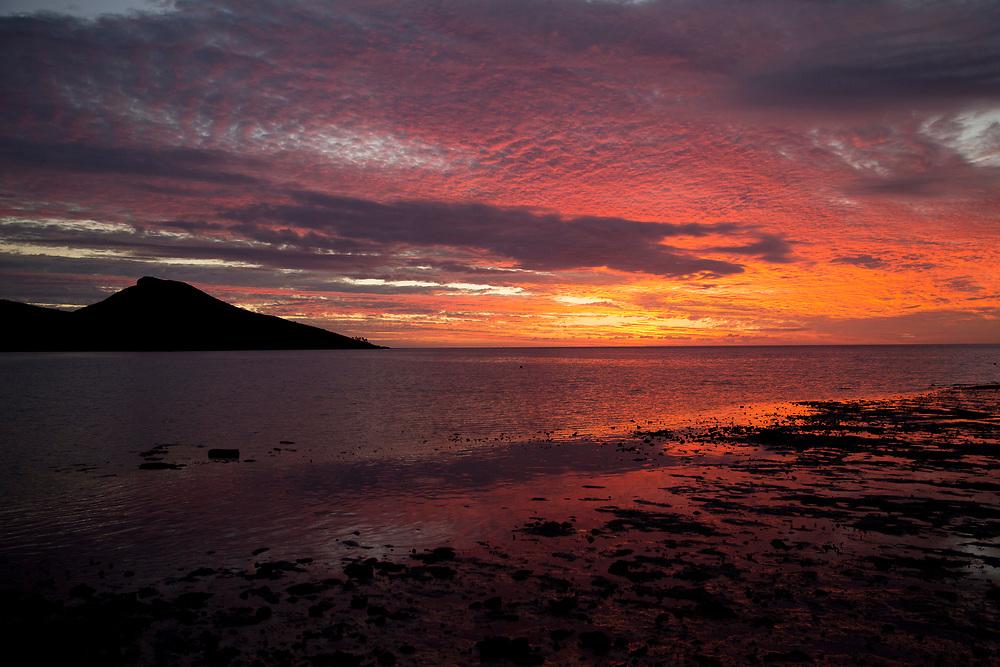 Sunset on Veti Levu, Fiji on June 19, 2014<br /> <br /> copyright: Christina Czybik