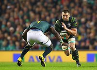 Rugby Union - 2017 Guinness Series (Autumn Internationals) - Ireland vs. South Africa<br /> <br /> Ireland's CJ Stander in action against South Africa's Tendai Mtawarira at the Aviva Stadium.<br /> <br /> COLORSPORT/KEN SUTTON