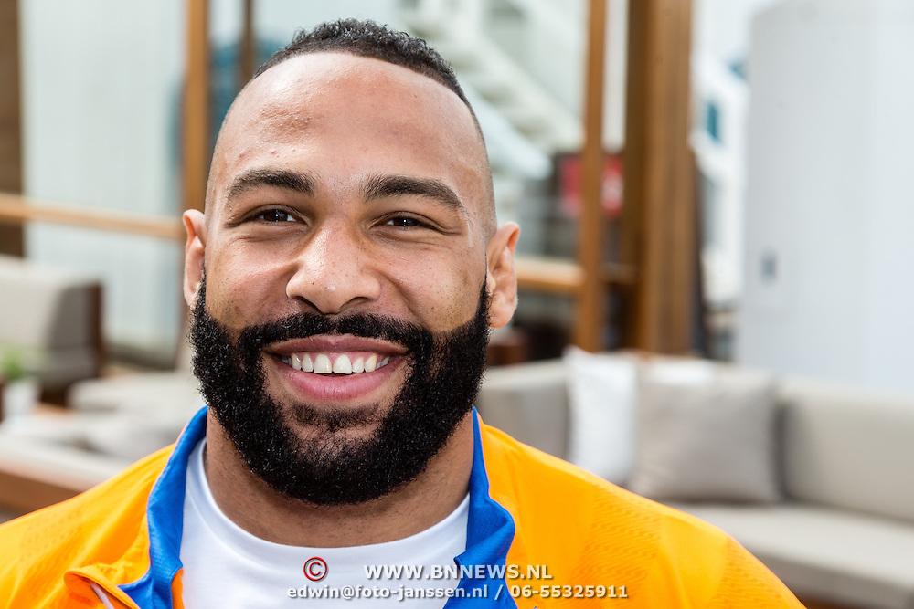 NLD/Scheveningen/20160713 - Perspresentatie judoka's voor de Olympische Spelen 2016 in Rio de Janeiro, Roy Meyer