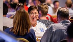 Fans gather at the Sports Bar and Grill to watch England vs Slovakia - Mandatory by-line: Robbie Stephenson/JMP - 20/06/2016 - FOOTBALL - Ashton Gate - Bristol, United Kingdom  - England vs Slovakia - UEFA Euro 2016
