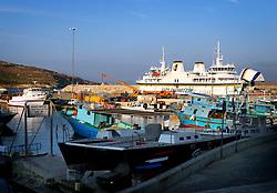 MALTA GOZO MGARR 25JUL06 - General view of Mgarr harbour and ferry port on Gozo...jre/Photo by Jiri Rezac..© Jiri Rezac 2006..Contact: +44 (0) 7050 110 417.Mobile:  +44 (0) 7801 337 683.Office:  +44 (0) 20 8968 9635..Email:   jiri@jirirezac.com.Web:    www.jirirezac.com