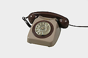 Old style dial telephone