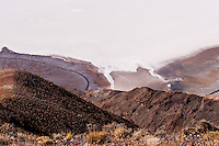 United States, California, Death Valley. From Dante's View 5,500 feet (1,700 m) above sea level. Great view of central part of Death Valley with the Badwater Basin.