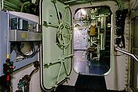 France, Manche (50), Cherbourg-Octeville, Cité de la Mer, ancien sous-marin nucléaire Le Redoutable // France, Normandy, Manche department, Cherbourg-Octeville, Cité de la Mer museum, former nuclear submarine Le Redoutable