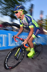 August 3, 2018 - Putte, BELGIUM - Belgian Timothy Dupont of Wanty-Groupe Gobert pictured in action during the one lap time trial at the 3rd edition of the 'Natourcriterium Putte' cycling event, Friday 03 August 2018 in Putte. The contest is a part of the traditional 'criteriums', local races in which mainly cyclists who rode the Tour de France compete. BELGA PHOTO LUC CLAESSEN (Credit Image: © Luc Claessen/Belga via ZUMA Press)