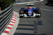 May 25-29, 2016: Monaco Grand Prix. Felipe Nasr (BRA), Sauber