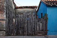 Small house in Gibara, Holguin, Cuba.