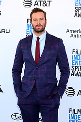 February 23, 2019 - Santa Monica, CA, USA - LOS ANGELES - FEB 23:  Armie Hammer at the 2019 Film Independent Spirit Awards on the Beach on February 23, 2019 in Santa Monica, CA (Credit Image: © Kay Blake/ZUMA Wire)