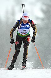 Andrea Henkel (GER) at Women 15 km Individual at E.ON Ruhrgas IBU World Cup Biathlon in Hochfilzen (replacement Pokljuka), on December 18, 2008, in Hochfilzen, Austria. (Photo by Vid Ponikvar / Sportida)