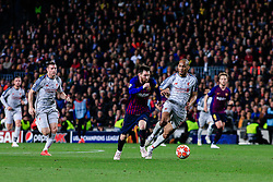 May 1, 2019 - Barcelona, BARCELONA, Spain - 10 Leo Messi of FC Barcelona during the UEFA Champions League first leg match of Semi final between FC Barcelona and Liverpool FC in Camp Nou Stadium in Barcelona 01 of May of 2019, Spain. (Credit Image: © AFP7 via ZUMA Wire)