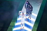 Real Madrid's player Casemiro during the celebration of the victory of the Real Madrid Champions League at Santiago Bernabeu in Madrid. May 29. 2016. (ALTERPHOTOS/Borja B.Hojas)