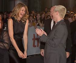 Director Justin Kelly and actor Laura Dern attend a red carpet for the movie Jeremiah Terminator Leroy during the 2018 Toronto International Film Festival in Toronto, ON, Canada on Saturday, September 15, 2018. Photo by Fred Thornhill/CP/ABACAPRESS.COM