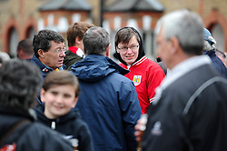 Bristol City fans at The Griffin pub before the game between Brentford and Bristol City in the Sky Bet Championship  - Mandatory by-line: Dougie Allward/JMP - 16/04/2016 - FOOTBALL - Griffin Park - Brentford, England - Brentford v Bristol City - Sky Bet Championship