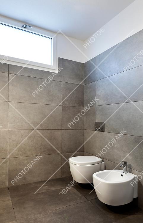new apartment, empty bathroom