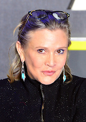 File photo dated 16/12/2015 of Carrie Fisher Carrie Fisher, who has died at age 60, her daughter's publicist said.