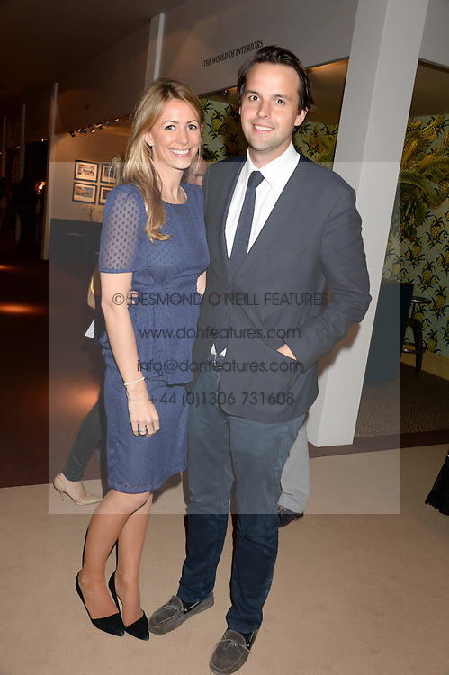 CHARLIE GILKES and ANNEKE VON TROTHA TAYLOR at the Masterpiece Midsummer Party in aid of Marie Curie Cancer Care held at The Royal Hospital Chelsea, London on 2nd July 2013.