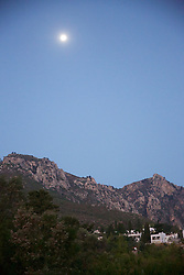 View From Karmi with Moon