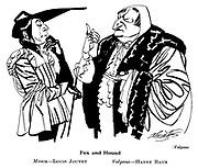 Volpone ; Louis Jouvet and Harry Baur..