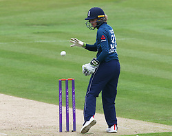 June 15, 2018 - Canterbury, England, United Kingdom - Sarah Taylor of England Women.during Women's One Day International Series match between England Women against South Africa Women at The Spitfire Ground, St Lawrence, Canterbury, on 15 June 2018  (Credit Image: © Kieran Galvin/NurPhoto via ZUMA Press)